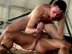 69 and sucking with a hot guy in servitude