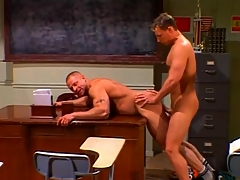 Hunks fucking in a hot gay compilation