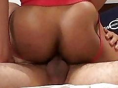 Bareback muscle interracial screwing