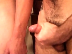 Young close-fisted oiled boys rub surpassing every other