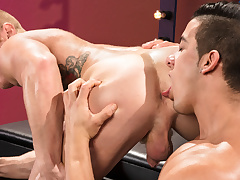 Johnny V & Jacob Taylor in The Arrivisme Is Real, Instalment 03 - RagingStallion