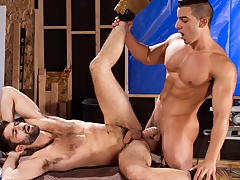 Tegan Zayne & Jacob Taylor in Erect This!, Scene 01 - RagingStallion