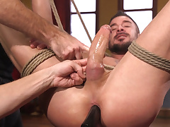 Dolf Dietrich Surrenders His 8 Inch Cock for Edging