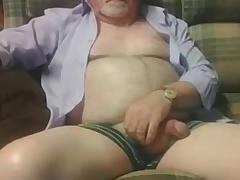 Grandpa show exposed to cam 3